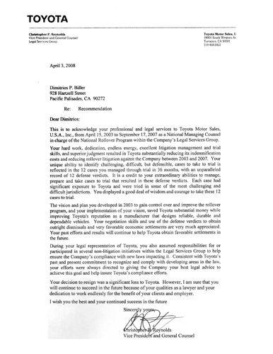 Toyota-Letter