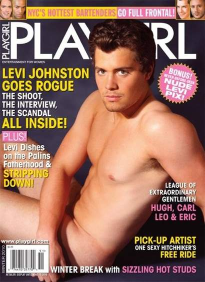 Levi Johnston Playgirl cover