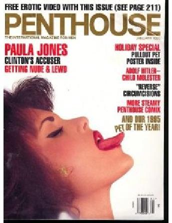 Paula Jones Penthouse Cover